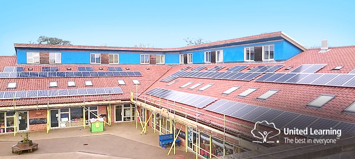 <h3>United Learning Academy roll out renewables across their academic facilities.</h3><h3></h3>